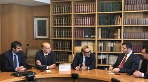 Incontro delegazione albanese 1