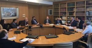 Incontro delegazione albanese