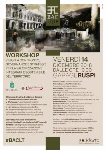 invito workshop 14 dicembre 2018