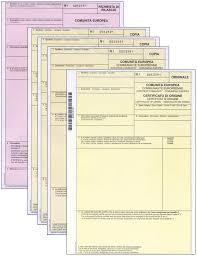Certificati d'origine
